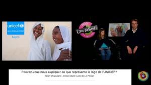 Extrait 2 : Le logo de l'UNICEF